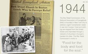 World Relief i aktion redan 1944 - då för Europa