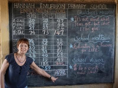 492 barn i Hannah-Emuriakin skola som behöver en sponsor