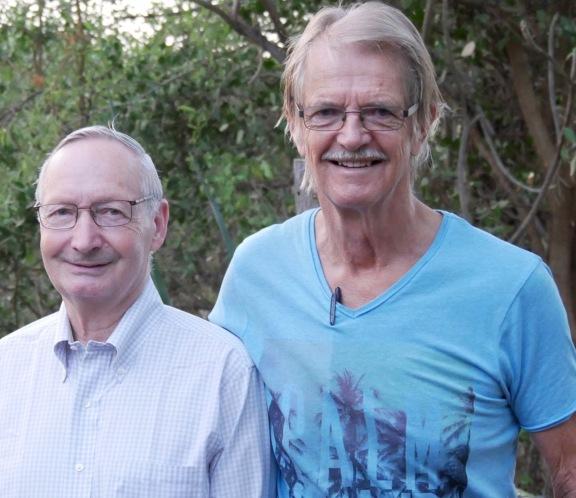 KeA med Arne Panduro som hjälpt oss emigrera till ett nytt bokföringssystem.