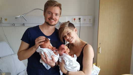 Jonathan, Magdalena with their little ones